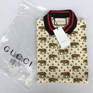Gucci Men's Polo Shirt  I T A L Y